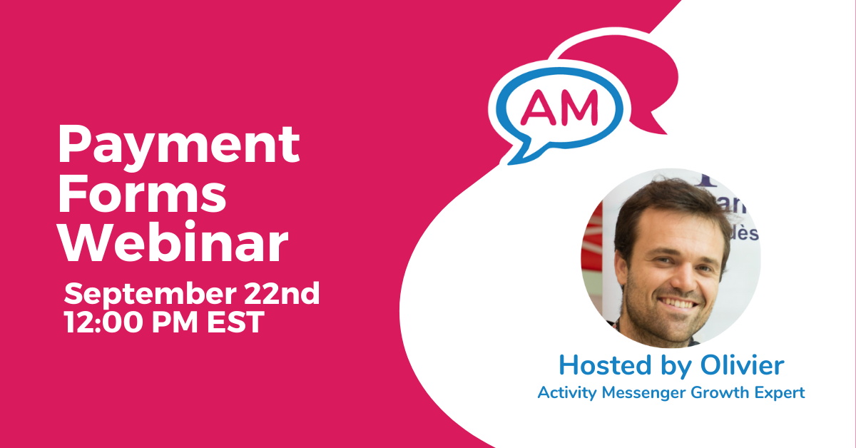 Payment Forms Webinar
