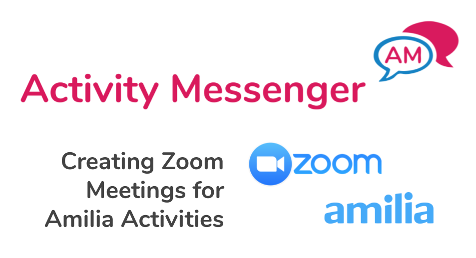 Creating Zoom Meetings for Amilia Activities