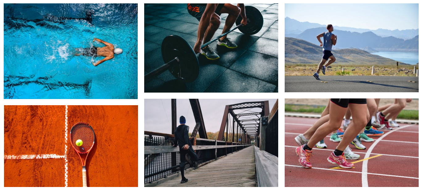 Stock Photos from Pexels integrated in Activity Messenger