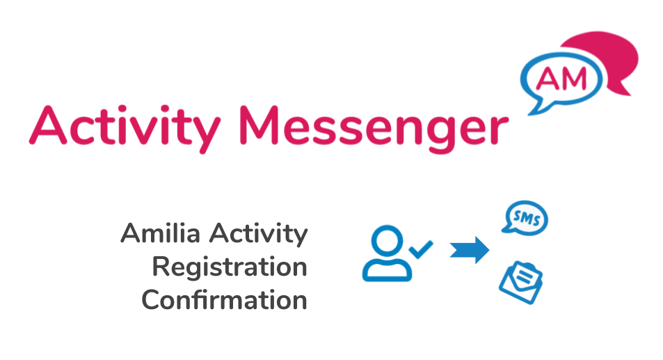 Amilia Activity Registration Confirmation email from Activity Messenger